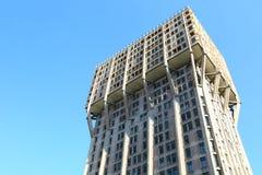 塔Velasca在米兰,意大利 免版税库存图片