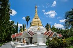 塔Wat pafang在Lampang北泰国 免版税图库摄影
