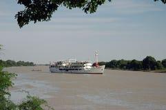塞内加尔河巡航 库存照片