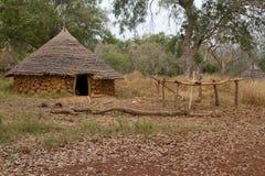 塞内加尔Ethiolo小屋 免版税图库摄影