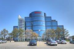 塞内卡学院大厦在万锦市,加拿大 免版税库存照片