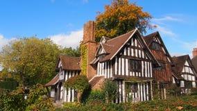 塞利庄园,伯明翰,英国 免版税图库摄影
