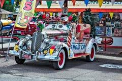 塞利格曼, ARIZONA/USA - 7月31日:雪汽车在塞利格曼亚利桑那 免版税库存图片