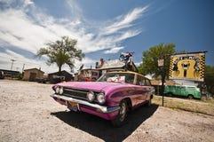 塞利格曼-沿路线66的古迹 免版税库存照片