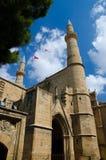 塞利米耶清真寺,圣索非亚大教堂,尼科西亚,Lefcosa,塞浦路斯 免版税库存图片