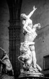 塞宾人妇女的Giambologna's强奸 免版税库存照片