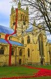 塞尔比大教堂鸦片百年纪念品2 免版税库存图片