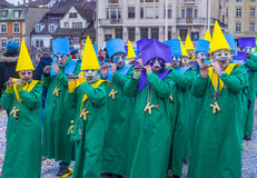 2017年巴塞尔狂欢节 库存照片
