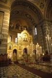 塞尔维亚东正教在的里雅斯特 免版税库存照片