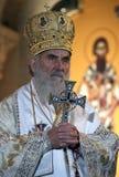 塞尔维亚人族长Irinej 免版税库存图片