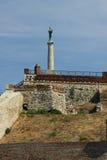 塞尔维亚, Belgrad, Kalemegdan堡垒 免版税库存图片