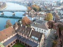 巴塞尔,瑞士 库存照片