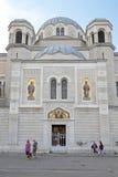 塞尔维亚东正教的里雅斯特 免版税图库摄影