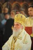塞尔维亚人族长Irinej 库存图片