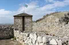 塞尔维亚堡垒 免版税库存照片
