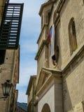 塞尔维亚教会在黑山 免版税图库摄影