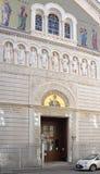 塞尔维亚教会的里雅斯特 免版税库存照片