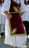 塞尔维亚舞蹈13 库存照片