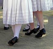 塞尔维亚舞蹈6 免版税库存照片