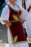 塞尔维亚舞蹈9 免版税库存照片