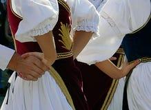 塞尔维亚舞蹈11 库存照片