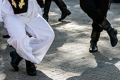 塞尔维亚舞蹈7 免版税库存照片