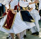 塞尔维亚舞蹈8 免版税库存图片