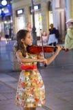 塞尔维亚街道音乐家 免版税库存图片