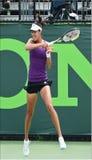 塞尔维亚赞成网球员安娜・伊万诺维奇 免版税图库摄影