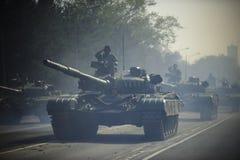 塞尔维亚陆军特种部队战斗用车辆 库存图片