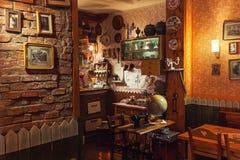 塞尔维亚餐馆 库存图片