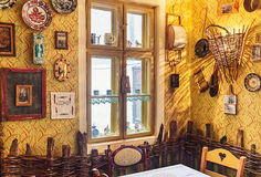 塞尔维亚餐馆 库存照片