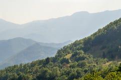 塞尔维亚:狄那里克阿尔卑斯山脉 库存照片