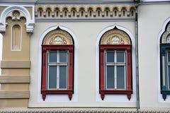 塞尔维亚主教制度的宫殿 免版税库存照片