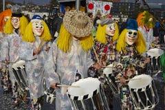 巴塞尔(瑞士) -狂欢节2015年 免版税库存照片