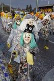 巴塞尔(瑞士) -狂欢节2015年 免版税库存图片