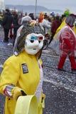 巴塞尔(瑞士) -狂欢节2015年 库存照片