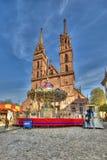 巴塞尔主要大教堂  免版税库存图片