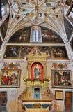 塞戈维亚大教堂,西班牙内部  库存图片