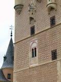 塞戈维亚Castel在西班牙 免版税图库摄影