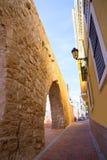 塞戈韦Castellon Torre del Verdugo中世纪Muralla西班牙 免版税图库摄影