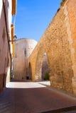 塞戈韦Castellon Torre del Verdugo中世纪Muralla西班牙 图库摄影