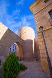 塞戈韦Castellon Torre del Verdugo中世纪Muralla西班牙 库存图片