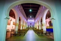 塞戈维亚,西班牙古老犹太教堂 免版税库存图片