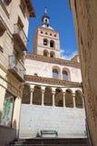 塞戈维亚,西班牙, 2016年4月- 14日:Iglesia圣马丁省古代罗马教会 免版税库存照片