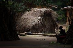 塞拉利昂,西非, Yongoro村庄  免版税库存照片