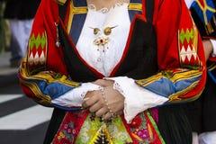 塞拉尔朱斯,意大利- 2016年9月11日:前婚姻Selargino -撒丁岛 库存图片