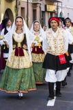 塞拉尔朱斯,意大利- 2016年9月11日:前婚姻Selargino -撒丁岛 库存照片