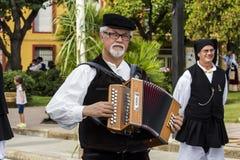 塞拉尔朱斯,意大利- 2015年9月13日:古老婚姻Selargino -撒丁岛 库存照片