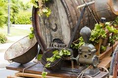 塞拉尔朱斯,意大利- 2015年9月13日:婚姻Selargino -撒丁岛的古老免版税库存照片
